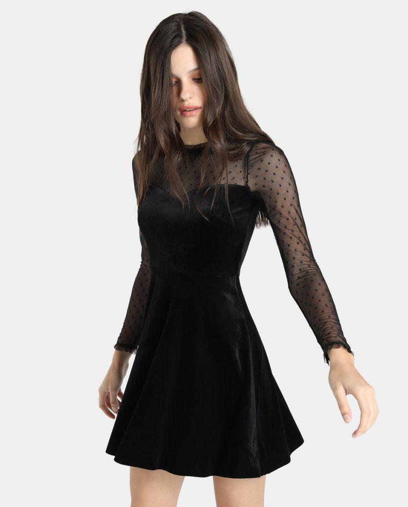 black party dresses