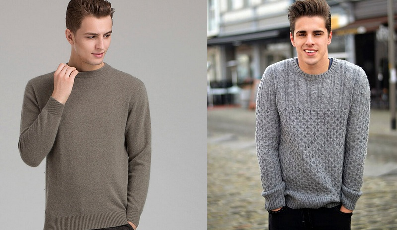 Sweater, cardigan, jumper. How to choose?