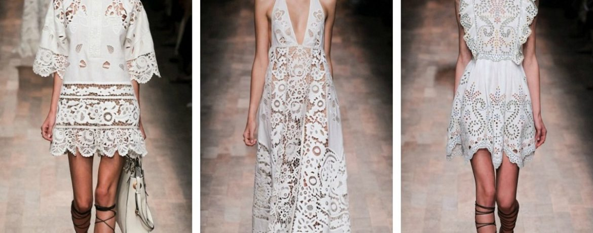 Summer Lace Dresses Do Not Go Out Of Fashion!