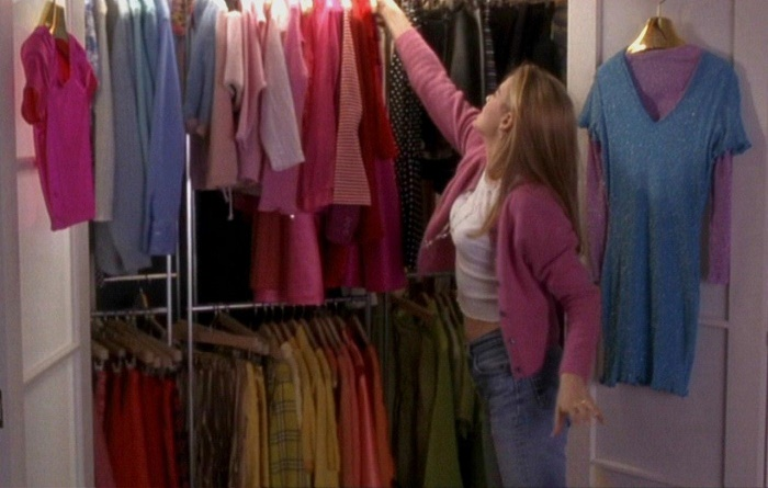 cleaning out closet tips
